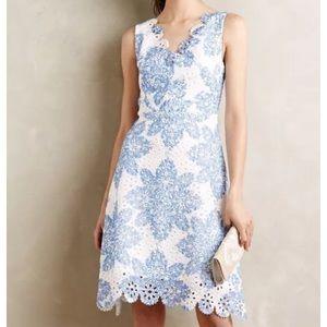 Eva Franco Dresses & Skirts - New Eva Franco Starflower Scalloped Dress Sz 6