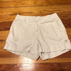 Free People Pants - White striped shorts