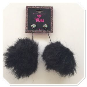 Betsy Johnson Pom Pom Earrings