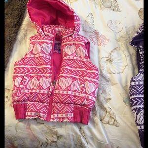 Pink Platinum Other - Girls jacket vest