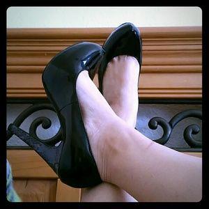 mark by Avon Shoes - 💲⬇PRICE DROP⬇💲Black patent platform pump heels