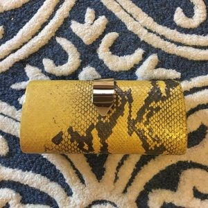 Banana Republic Snake Clutch