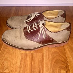 Johnston & Murphy Other - Johnston & Murphy lace up Oxford shoes tan leather