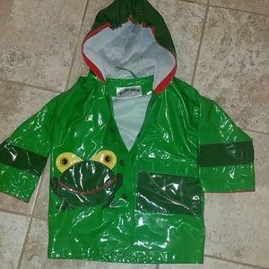 Kidorable Other - Frog rain jacket