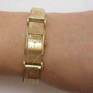 Jewelry - Antique 14k gold watch bracelet by Otto Grun