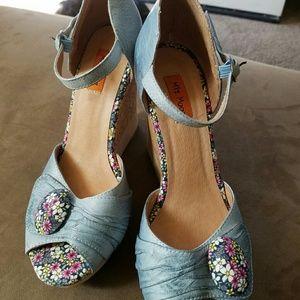 MIZ MOOZ Shoes - MIZ MOOZ NEW LEATHER WEDGES