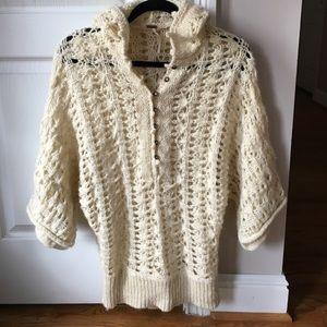 FREE PEOPLE boho sweater women's size small