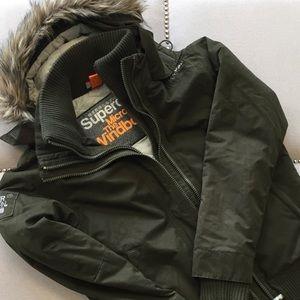 Superdry Microfibre Windbomber Jacket