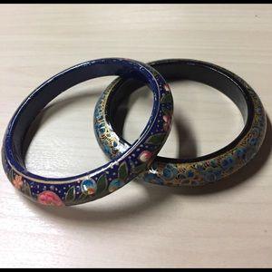 Jewelry - Painted Boho Bangles