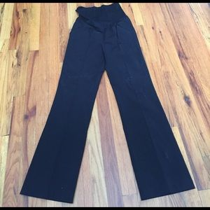 Black maternity pants. Size S.
