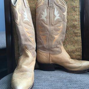 Dan Post Shoes - Authentic Dan Post Leather & Suede cowboy boots