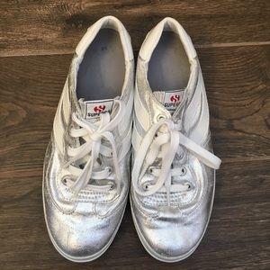 Superga Shoes - Metallic superga shoes
