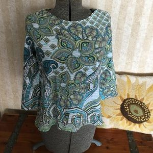 Chico's Tops - Chico's 3/4 sleeve top.