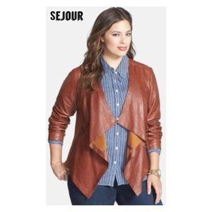 Sejour Jackets & Blazers - Sejour leather jacket