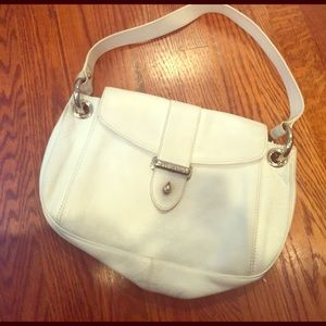 Marc Jacobs white leather bag