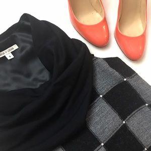 Alice + Olivia Dresses & Skirts - ALICE + OLIVIA Cowl Neck Shift Dress Checkered