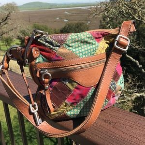 Fossil Handbags - Fossil Patchwork Crossbody Bag