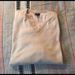 J. Crew Other - Cotton-cashmere v-neck sweater