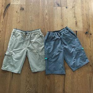 Ocean Current Other - Set of 2 Boys shorts Ocean Current, size L (12-14)