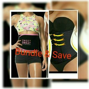Other - Bundle hour glass waist trainer sweet sweet belt