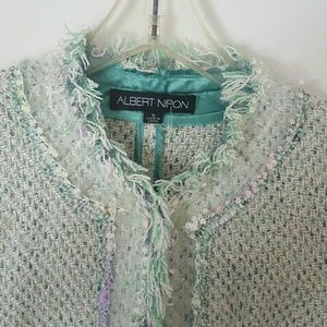 Albert Nipon Dresses & Skirts - Albert Nipon pastel tweed suit