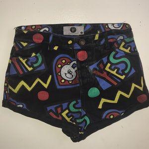 Lazy Oaf Pants - Denim shorts
