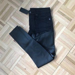 R 13 Denim - R13 Black Chaps