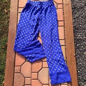 Kensie Pants - Kensie Drawstring Lightweight Summer Pants XS