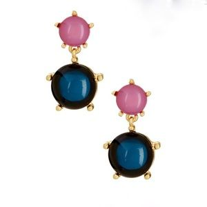 Cara Couture Jewelry - Cara Accessories pink/blue drop earrings