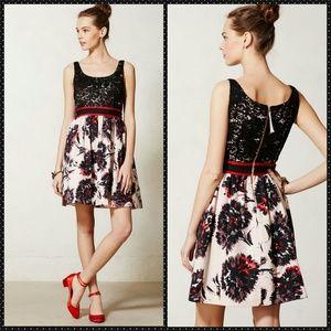 Anthropologie Dresses & Skirts - Anthropologie Peter Som Brushstroke Blossoms Dress
