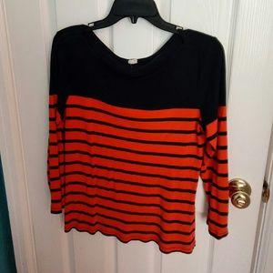 J. Crew Tops - Boatneck shirt XL