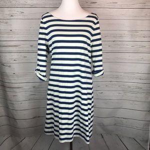 Old Navy dress striped