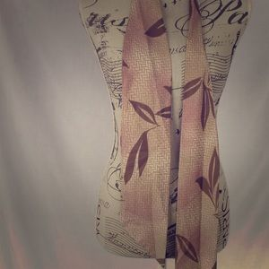 "Vintage real silk ""tie"" women's scarf"