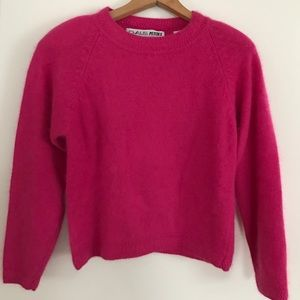 Chaus Sweaters - Cropped Pink Sweater!