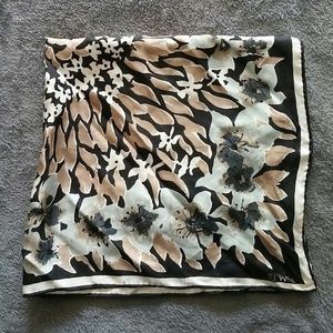  Vintage 100% Silk Scarves by Vera Floral Scarf
