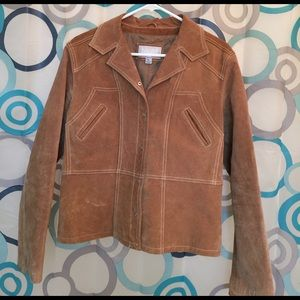 Wilsons Leather Jackets & Blazers - Wilsons Leather brown suede jacket nice Large