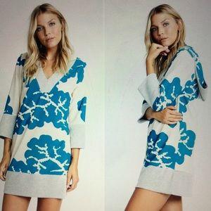 Karen Zambos Tops - NWT RETAIL Karen Zambos hooded Pullover/dress