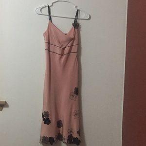 Gorgeous 100% silk pink dress!