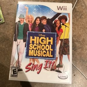 Nintendo Other - High School Musical Sing It