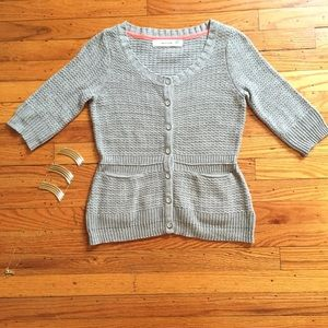Sparrow by Anthropologie crochet cardi
