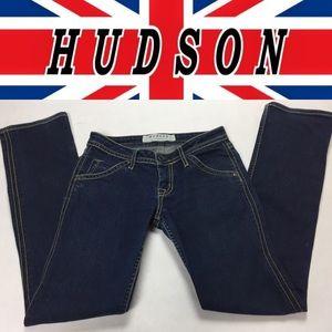 Hudson Jeans Denim - HUDSON JEANS SLIM STRAIGHT SZ 26
