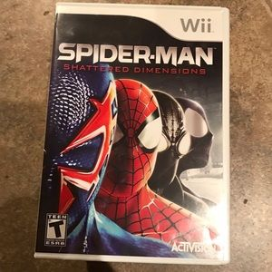Nintendo Other - Spider-Man Shattered Dimensions