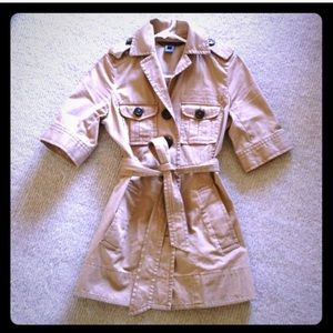 Marc by Marc Jacobs trench, size 4.