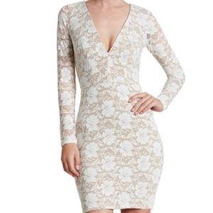 Dress the Population Dresses & Skirts - Sexy & Romantic Lace Body Con Mini Dress