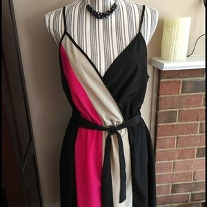 Dresses & Skirts - NWT Color-block Dress 👗