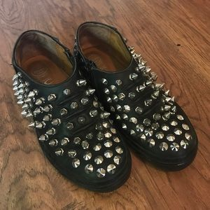 Studded Jeffrey Campbell shoes!