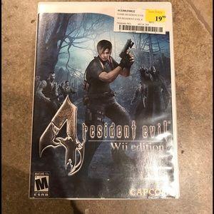 Nintendo Other - Resident Evil 4
