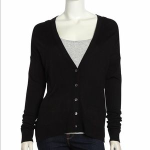Vince Uneven Stretch Cashmere blend Cardigan XS