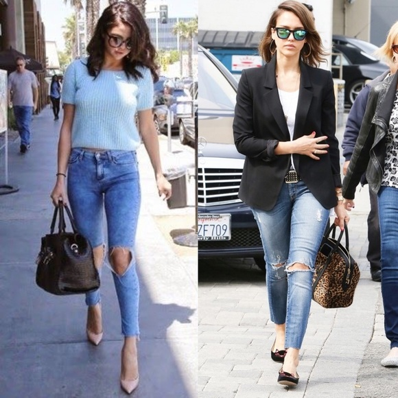 Bellanblue Jeans - 🚨LAST🚨SHILOH distressed skinny - MED DARK