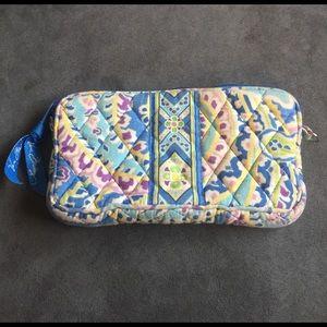 Vera Bradley wallet ! Blue , purple, green